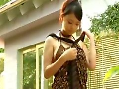 Asian Beauty Has Sex Outside After A Massage