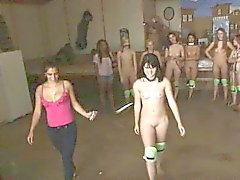 College Sorority Pledges Getting Auctioned Off Naked