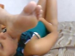 Hot Girl Foot Worshipped part 2