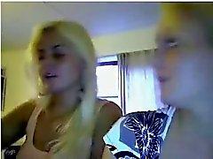 jeunes lesbos au embrasser de webcam la plus