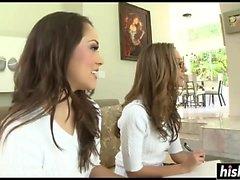 Jenna Haze e Kristina Rose batem