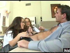 Jenna Haze ja Kristina Rose löysyvät