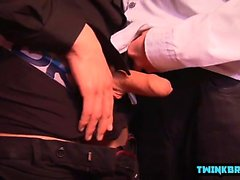 Big dick twinks anal rimming com corrida