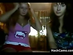Two Teen Girls Teasing