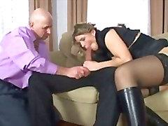 Mann und Mädchen Aktien Hahn