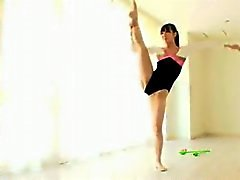 gymnastique Rythmic nus