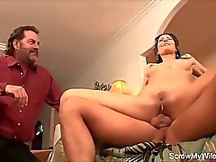 Brunette MILF Wild Swinger Sex