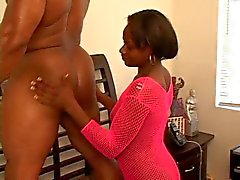 Ebony Casting Couch - BBC Workout