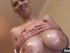 Katie Kox gets a big black cock