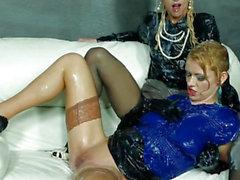 European bukake lesbian fisted at the gloryhole