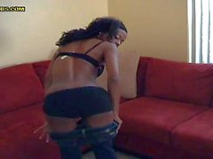 Jay gets his hard rod sucked by a black hottie