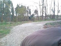 Muscle Stud Outdoor Cam Show (Dick Tease, No Cum)