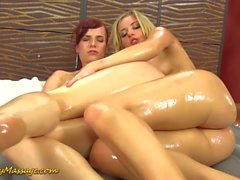lesbian nuru massage orgasm