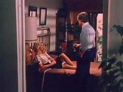 John Holmes Chris Cassidy Paula Wain in vintage porn scene