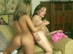 Hot lesbos in 69 pose