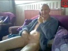 nonno che si masturba