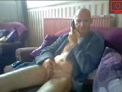 vovô se masturbando