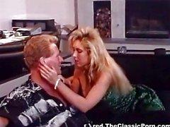 Lewd bombshell with big tits fucks
