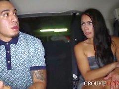Groupie Slut Fucks the Homie to Meet Her Favorite Rapper