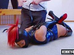 hot pornstar bondage and cumshot segment clip 1