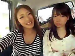 Japan MILF И подростков выйти из вместе в фургоном