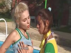 Vika and Natasha russians eating cunts