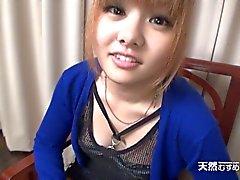 Japan девочка гребаный после приема Дика ее горло