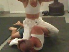 mixed judo