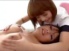 Акина Кая - лесбийская любовь Массаж