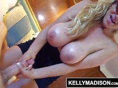 KELLY MADISON Makes it So as First Mate