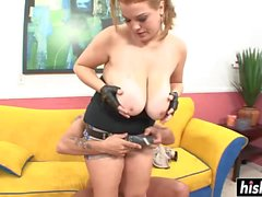 Lovely girl gets her pussy plowed
