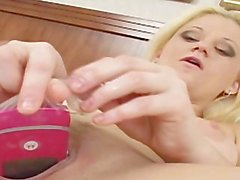 Real milf masturbation