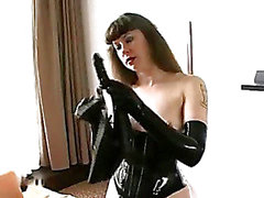 De BDSM Latex a solo