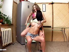 Pounded Cuties by Sapphic Erotica - lesbian love porn with