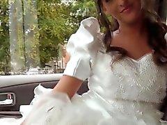 Hitchhiking Braut bumst ihrem Fahrer