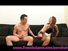 FemaleAgent. Well endowed Frenchman