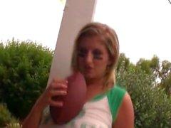 Jenny McClain , Fotbolls # ett