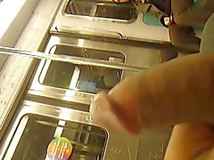 flashing girls paris subway legendflashing