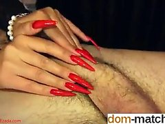 Mistress Ezada scratching ruin - Fuck her on dom-match