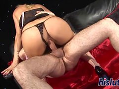 Natasha Marley is a skilled cock-rider