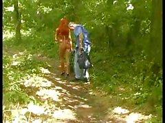 HOT GIRL 57 redhead bulgarian teen in the woods