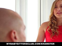 MyBabySittersClub - Cute BabySitter Fucks Boss For Extra Cas