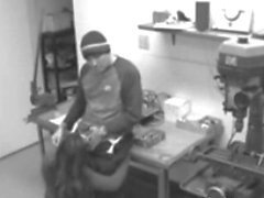 Employees Get Caught By Security Cams Fucking
