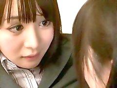 Азиатский Schoolgirl марок Преподаватель лесбиянка Pet чaсть 11