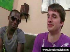 Große muskulösen schwarzen Homosexuell Jungen demütigen white twinks Hardcore 03.