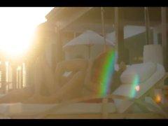 public sex on Maldives sunbed