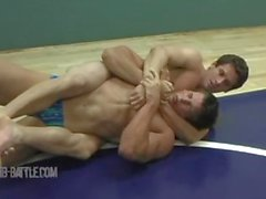Dillon vs Ron Hot Wrestling