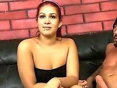 Latin Babe Chloe Cross Shows Off Her Oral Skills