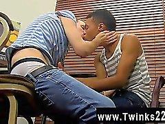 Homosexuell Video Reizvolles Robbie Anthony hat einen Sache für das blonde swee