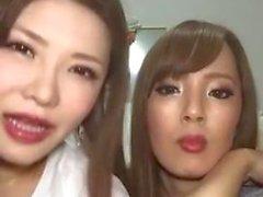 Hitomi Tanaka & Okita Anri Live on Instagram